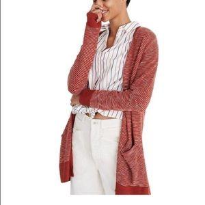 🍁🍂Madewell striped knit cardigan🍁